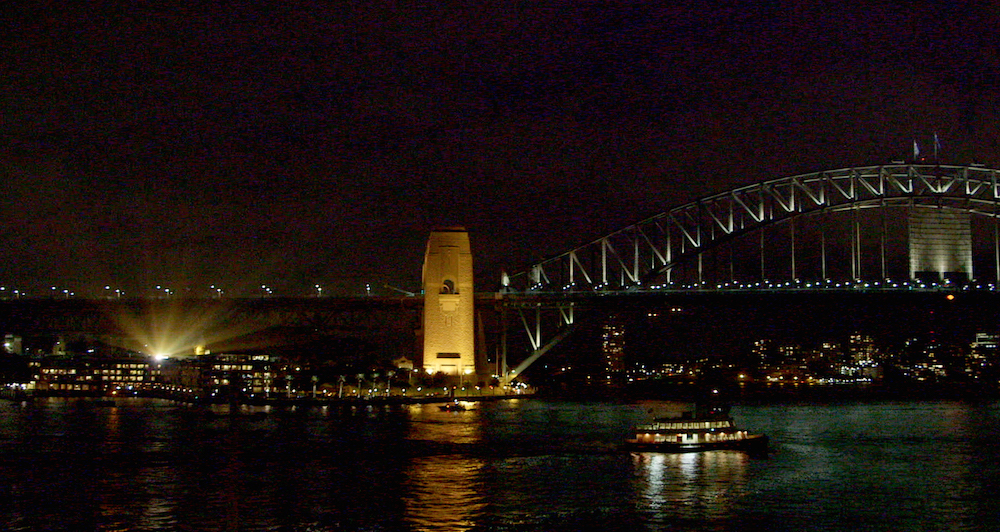 Sydney Harbour Visions of Vienna Projection